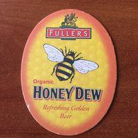 Подставка под пиво Fuller's Honey Dew /Великобритания/ No 7