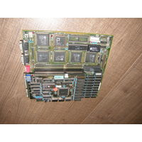 Материнская плата 286 Motherboard с процессором AMD N80L286-12/S