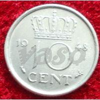 7956:  10 центов 1948 Нидерланды