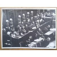 Нюрнбергский процесс в фотографиях. (набор из 30 качественных фото 17.5х23 см.)