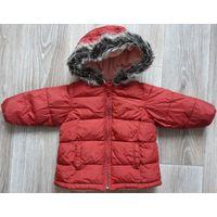 Детская куртка Old Navy для девочки на 1-1,5 года