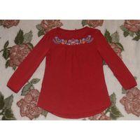 Блузка красная MF 158-164 см