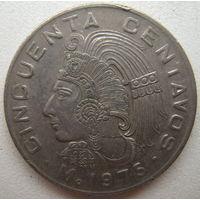Мексика 50 сентаво 1975 г. (d)