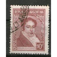 Аргентина. Гашеная. Лот-20
