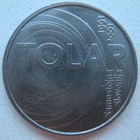 Словения 100 толаров 2001 г. 10 лет Республике Словения и Толару