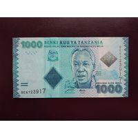 Танзания 1000 шиллингов 2010 UNC