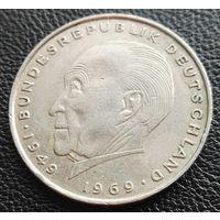2 марки 1972 D Германия
