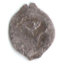 Денга 1505-1533 Василий III Иоанович Вязь чеканка в Москве _состояние VF+