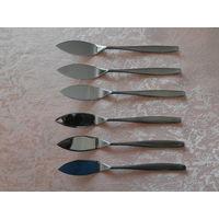 Нож для рыбы 6 штук Grasoli Stainleess Германия длина 19 см.