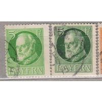 Бавария Личности Известные люди  Король Людвиг III 1914-1916 год лот 12