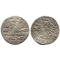 Грош 1528, Жигимонт Старый, Краков. Коллекционное состояние