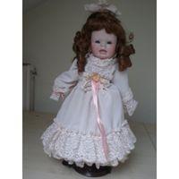 Фарфорвая кукла. 46 см. Emely