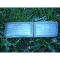 Светоотражатель-заглушка в передний бампер Гольф-3, левый