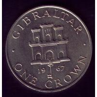 1 Крона 1967 год Гибралтар
