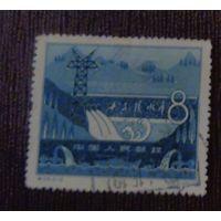 Шисаньлинское водохранилище. Китай. Дата выпуска: 1958-10-25