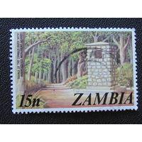 Замбия. Флора.