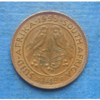 Южная Африка Британский доминион 1/4 пенни (фартинг) 1955