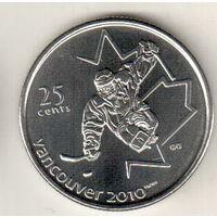 Канада 25 цент 2009 X зимние Паралимпийские Игры, Ванкувер 2010 Хоккей на санях