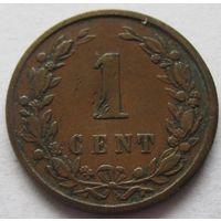 Нидерланды 1 цент 1899