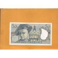 Франция  50 франков 1990г.  унс