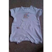 """Песочник """"Disney"""" беленький 3-6 месяцев, на ребенка до 8,5 кг. КАк новый!"""