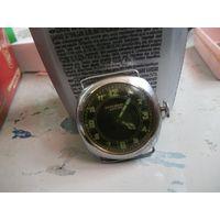 "Довоенные швейцарские часы ""Guildhall Lever""."