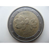 Финляндия 2 евро 2001г.   Распродажа!!!