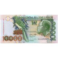 Сан-Томе и Принсипи 10000 добра 2013 года. Состояние UNC!