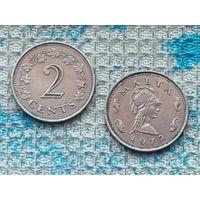 Мальта 2 цента 1972 года. Инвестируй выгодно в монеты планеты!