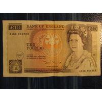 10 фунтов  TEN POUNDS  Сестра милосердия Флоренс Найтингейл и королева Елизавета 2  Минимальная цена