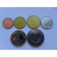 Набор монет Никарагуа.