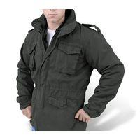 Легендарная куртка М65 (немного утепленная, демисезон весна / осень). Цвет Хаки - олива.