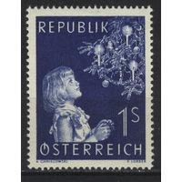 Австрия 1954 Mi# 1009 (MNH**)