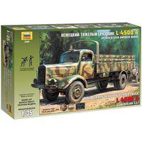 ЗВЕЗДА 3596 - Немецкий тяжелый грузовик L 4500 А / Сборная модель 1:35