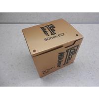 Коробка номерная от объектива Nikon Nikkor 50 mm 1:1.2 с документами Япония