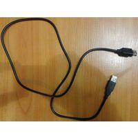 USB удлинитель стандарт 100см