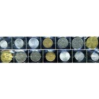 Словакия, 7 монет