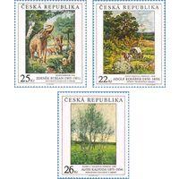 Чехия 2005 г Живопись Произведения искусства на марках *
