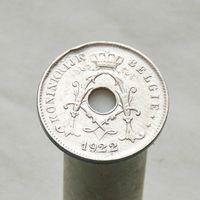 Бельгия 10 сантимов 1922