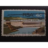 ЮАР 1972 плотина ГЭС