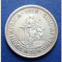 Южная Африка Британский доминион 1 шиллинг 1958