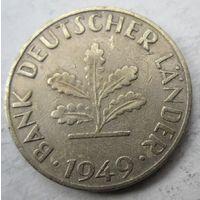 Германия. 10 пфеннигов 1949 F  .100