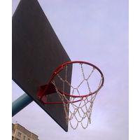 Баскетбольная сетка металлическая стритбольная (антивандальная).