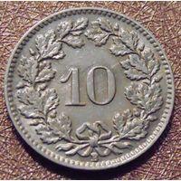 10 раппенов 1939 Швейцария