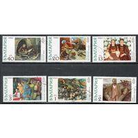 Живопись Болгария 1972 год серия из 6 марок