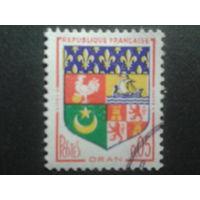 Франция 1960 герб Орана