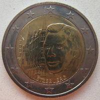 Люксембург 2 евро 2007 г. Замки Люксембурга. Дворец Великих герцогов