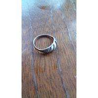 Старое антикварное серебренное кольцо клеймо 92 jen 1840-1854г