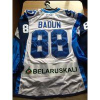 Алексей Бадун - Игровая хоккейная джерси сезона 2015/16 года.