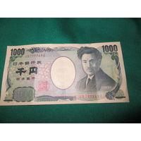Япония. 1000 йен 2004 года